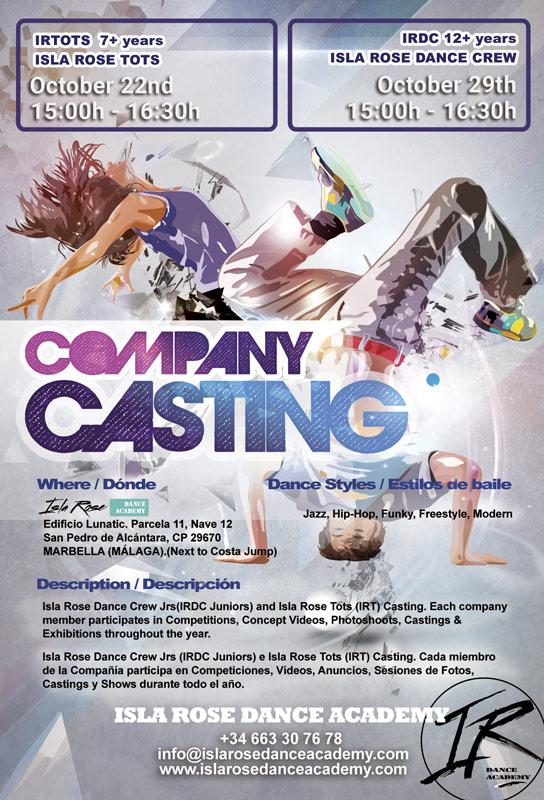 Isla Rose Dance Academy Casting
