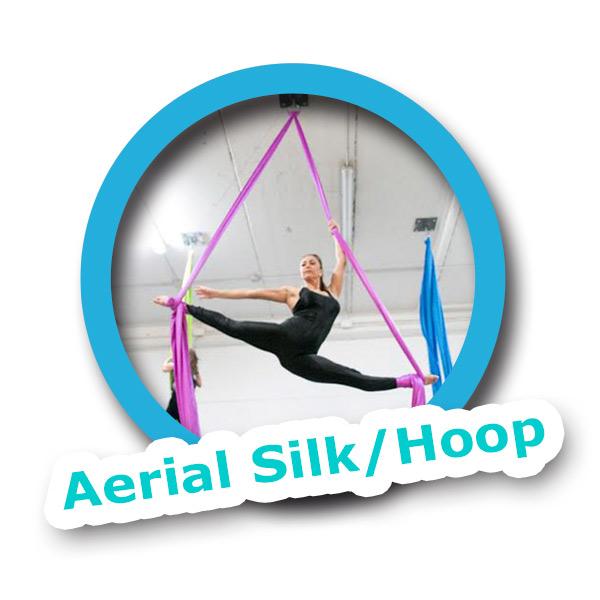 Isla Rose Dance Academy - Semana-Santa-Dance-Camp'2018 - Aerial Silk Hoop