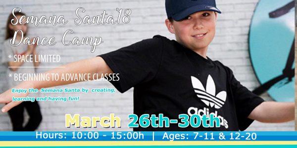 Isla Rose Dance Academy - Semana-Santa-Dance-Camp 2018