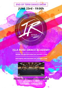 Isla Rose Dance Academy End of Term Show