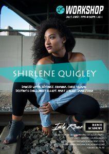 Workshop con Shirlene Quigley