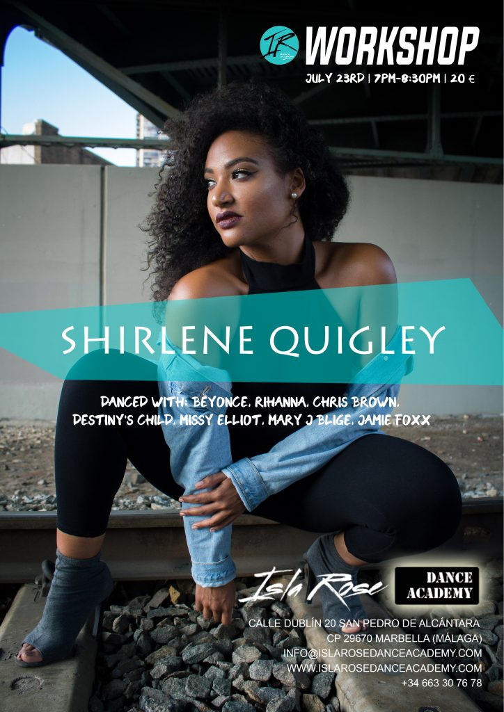Workshop with Shirlene Quigley