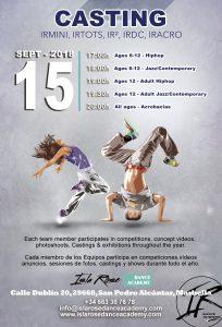 Casting - Isla Rose Dance Academy