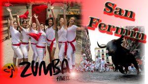 Gipsy Kings-Bamboleo ZUMBA Pamplona, Spain SAN FERMIN ENCIERRO RUNNING OF THE BULLS!