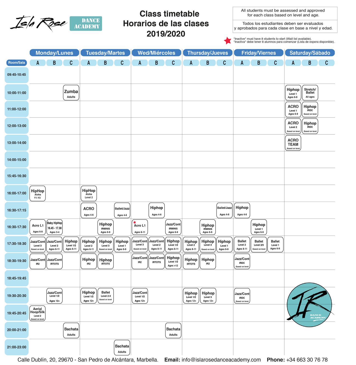 Isla Rose Dance Academy - New-Schedule---Timetable-LQ