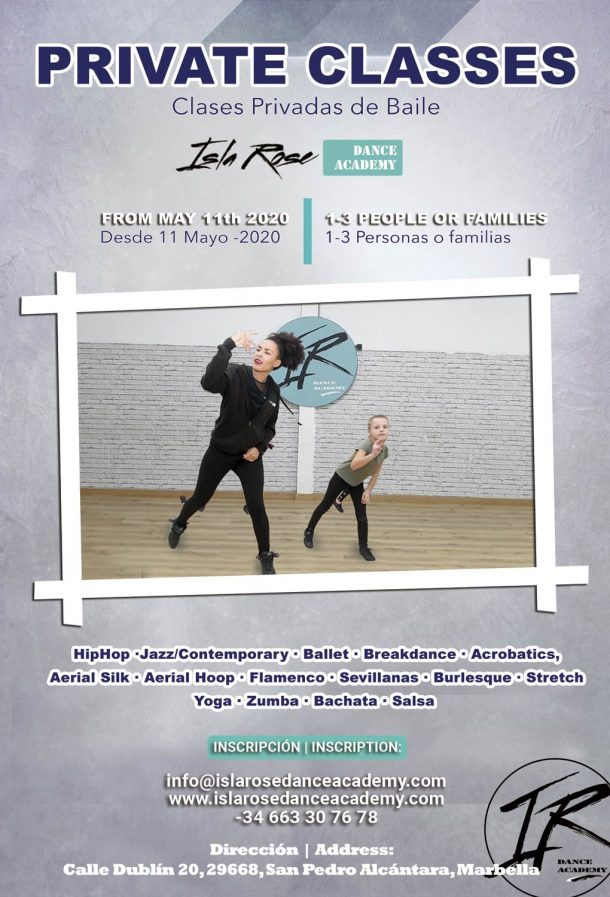 Isla Rose Dance Academy - Clases Privadas Private Classes