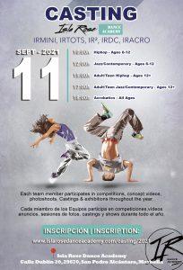 Casting-Isla Rose Dance Academy - IRDA-2021---11-Septiembre